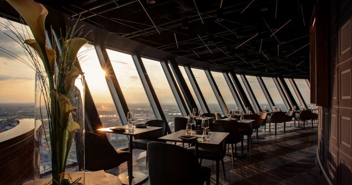Qomo Restaurant Bar Fernsehturm Dusseldorf